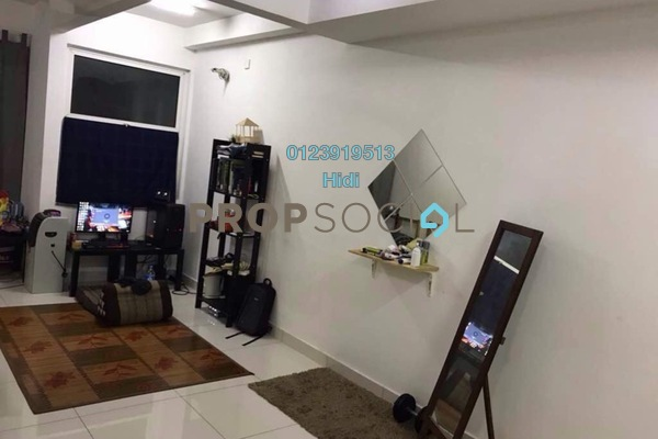 For Sale SoHo/Studio at De Centrum, Kajang Freehold Semi Furnished 0R/1B 280k