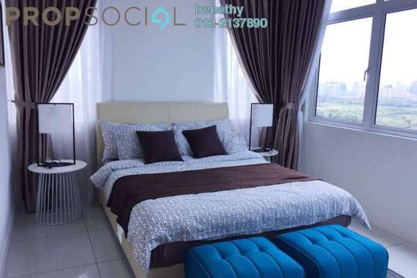 For Rent Condominium at Skypod, Bandar Puchong Jaya Freehold Fully Furnished 2R/2B 1.7k