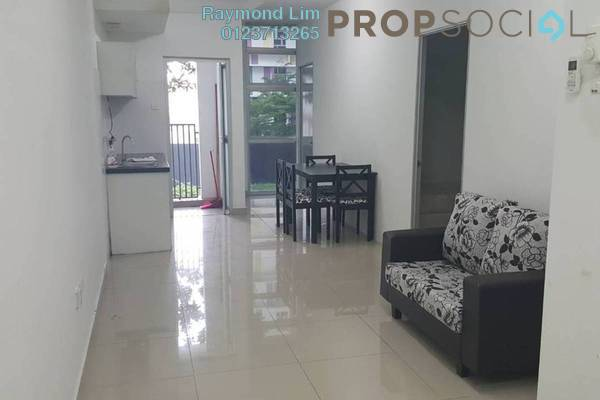 For Rent Condominium at The Domain, Cyberjaya Freehold Semi Furnished 3R/1B 1.25k
