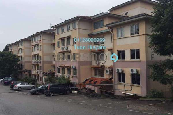 For Sale Apartment at Saujana Apartment, Damansara Damai Freehold Unfurnished 3R/2B 250k