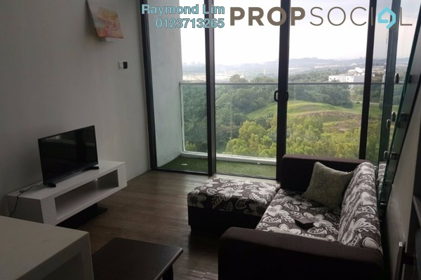 For Rent Condominium at The Place, Cyberjaya Freehold Fully Furnished 1R/1B 1.2k