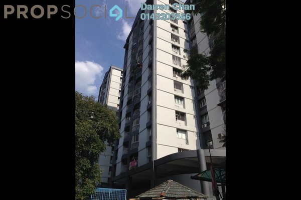 For Rent Apartment at Grandeur Tower, Pandan Indah Freehold Semi Furnished 3R/2B 1.2k