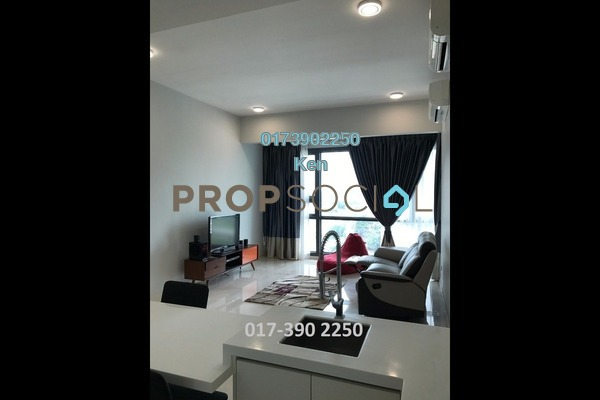 For Rent Serviced Residence at Vogue Suites One @ KL Eco City, Mid Valley City Freehold Fully Furnished 1R/1B 3.2k