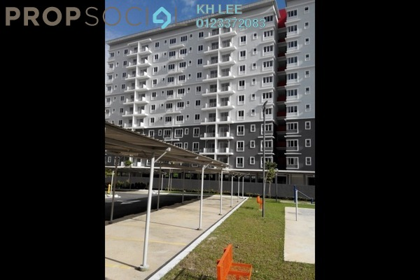 For Rent Condominium at Pelangi Heights, Klang Freehold Semi Furnished 3R/2B 1.4k