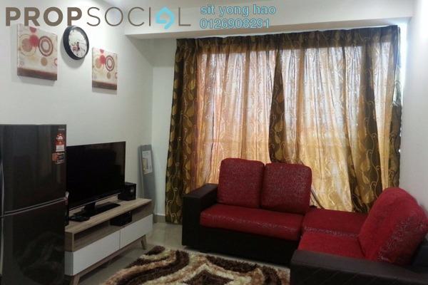 For Rent Condominium at Menara U2, Shah Alam Freehold Fully Furnished 2R/1B 1.6k