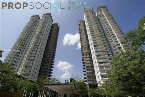 For Sale Condominium at The Maple, Sentul Freehold Semi Furnished 4R/3B 1.2m