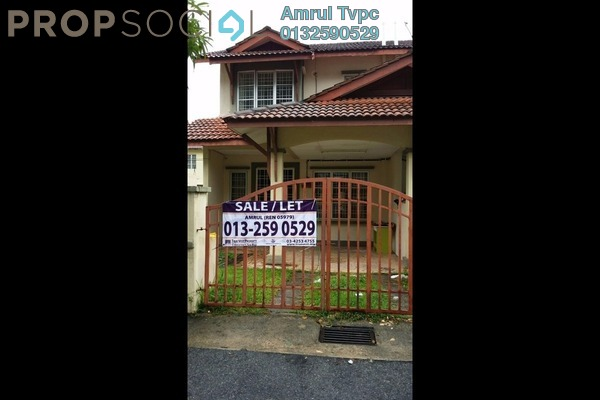 For Rent Terrace at Taman Gombak Permai, Batu Caves Freehold Unfurnished 4R/3B 1.4k