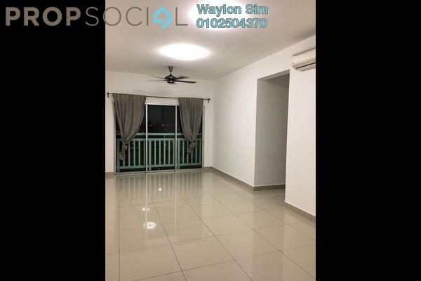 For Sale Condominium at Hijauan Puteri, Bandar Puteri Puchong Freehold Semi Furnished 3R/2B 430k