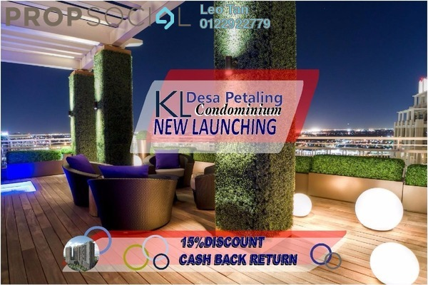 For Sale Condominium at Sunway Alam Suria, Shah Alam Freehold Semi Furnished 4R/2B 688k
