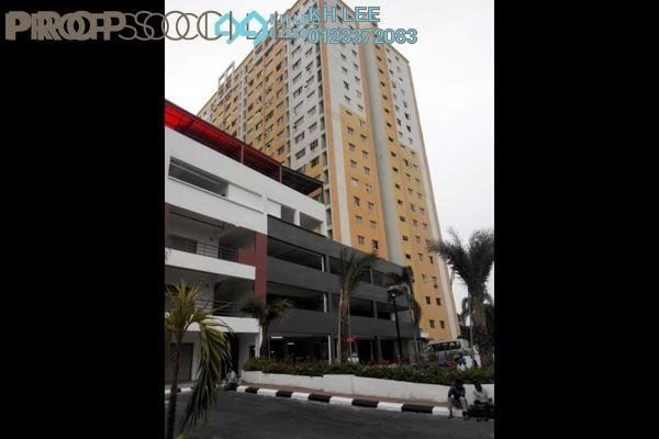For Sale Apartment at Palm Garden Apartment, Klang Freehold Unfurnished 3R/2B 190k