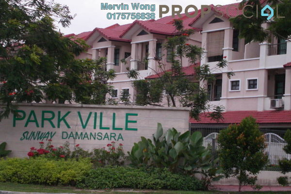 For Sale Townhouse at Parkville Garden Townhouse, Sunway Damansara Freehold Fully Furnished 3R/3B 980k