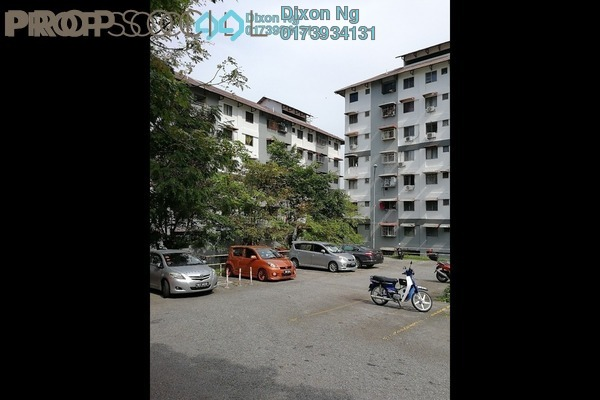 For Sale Apartment at Taman Segar, Cheras Freehold Fully Furnished 3R/2B 280k