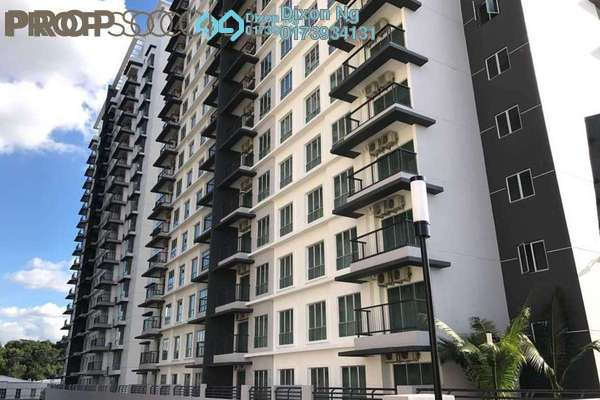 For Sale Condominium at Spring Avenue, Kuchai Lama Freehold Semi Furnished 3R/2B 550k