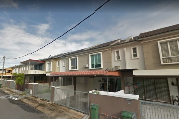 For Sale Terrace at Taman Sungai Dua Utama, Seberang Jaya Freehold Unfurnished 4R/3B 460k