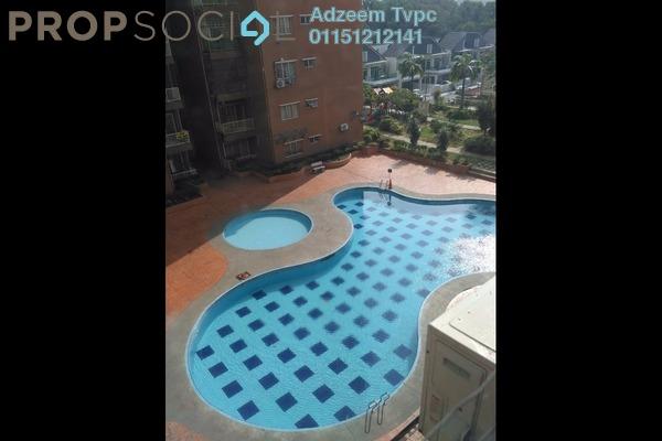 For Sale Apartment at Damai Mewah B Apartment, Kajang Freehold Semi Furnished 3R/2B 250k