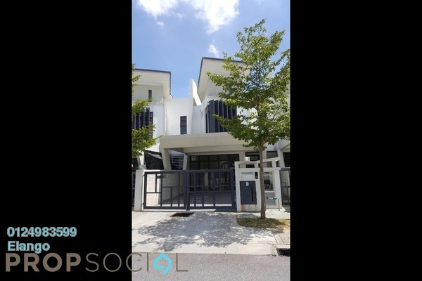For Rent Terrace at Laman Glenmarie, Saujana Freehold Semi Furnished 4R/4B 2.35k