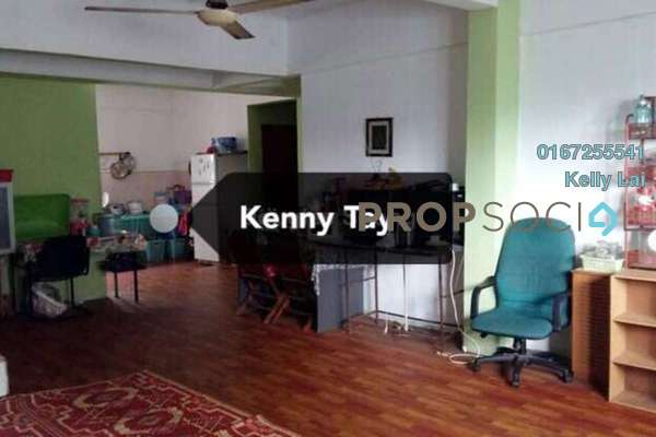 For Sale Condominium at Taman Mastiara, Jalan Ipoh Freehold Semi Furnished 4R/2B 320k