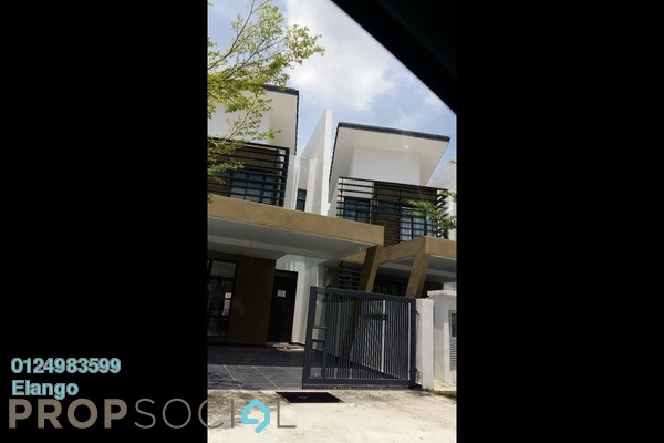 For Rent Terrace at Laman Glenmarie, Saujana Freehold Semi Furnished 4R/4B 2.2k