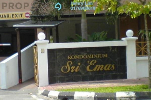 For Rent Condominium at Sri Emas, Pudu Freehold Fully Furnished 3R/2B 2.4k