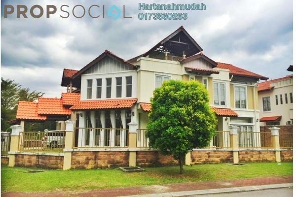 For Sale Semi-Detached at Suria Jelutong, Bukit Jelutong Freehold Semi Furnished 9R/7B 3.8m