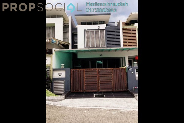 For Sale Terrace at Ukay Perdana, Ukay Freehold Semi Furnished 4R/3B 850k