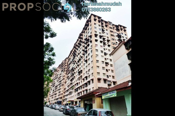For Sale Apartment at Lestari Apartment, Damansara Damai Freehold Unfurnished 3R/2B 125k