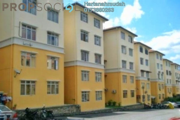 For Sale Apartment at Sri Baiduri Apartment, Ukay Freehold Semi Furnished 4R/2B 230k