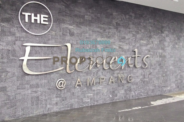 For Sale Condominium at The Elements, Ampang Hilir Freehold Semi Furnished 4R/3B 880k