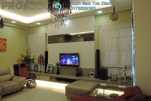 For Sale Semi-Detached at BK8, Bandar Kinrara Freehold Semi Furnished 5R/5B 1.9百万