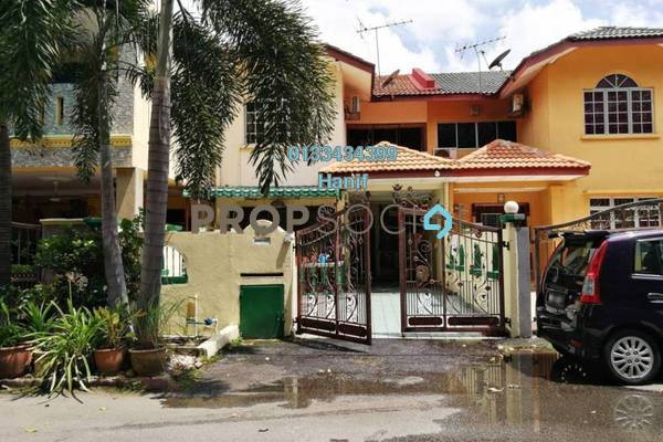 For Sale Terrace at Section 20, Shah Alam Freehold Semi Furnished 4R/3B 490k