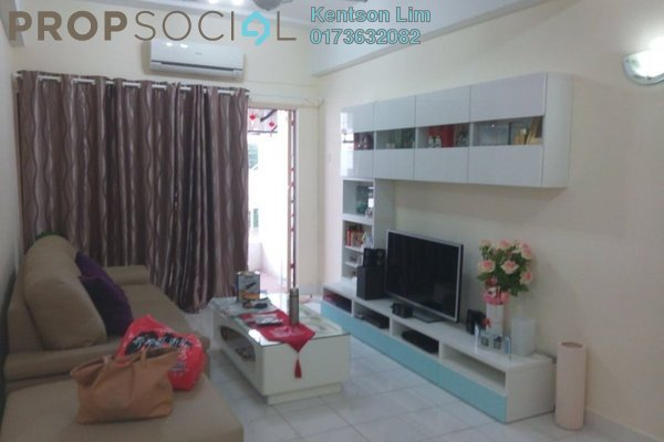 For Sale Condominium at Prima Saujana, Kepong Freehold Fully Furnished 3R/2B 298k