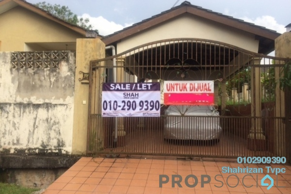 For Sale Bungalow at Desa Melor, Serendah Freehold Semi Furnished 4R/2B 600k