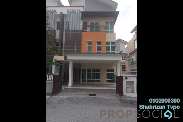For Sale Semi-Detached at Lake Valley, Bandar Tun Hussein Onn Freehold Semi Furnished 6R/6B 2.08m