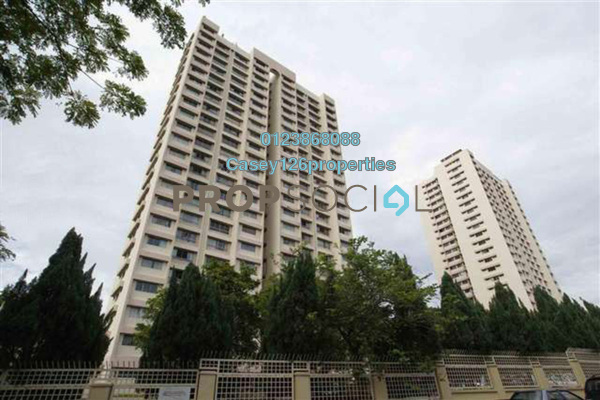 For Sale Condominium at OG Heights, Old Klang Road Freehold Semi Furnished 3R/2B 360k