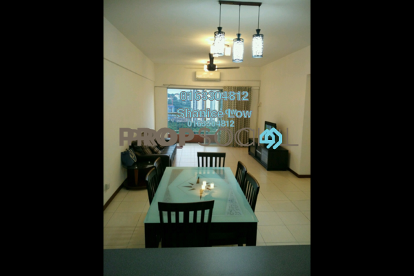 For Rent Condominium at Plaza Medan Putra, Bandar Menjalara Freehold Fully Furnished 3R/2B 1.7k
