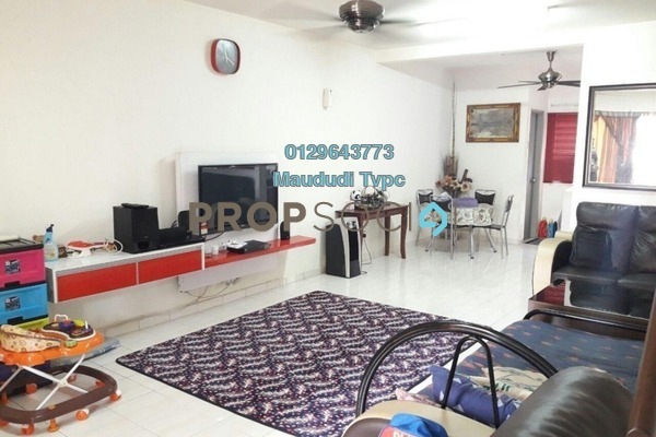 For Sale Terrace at Taman Bukit Permata, Batu Caves Freehold Semi Furnished 4R/3B 590k