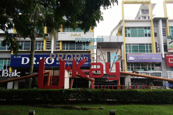 For Rent Shop at Ukay Boulevard, Ukay Freehold Unfurnished 0R/2B 11k