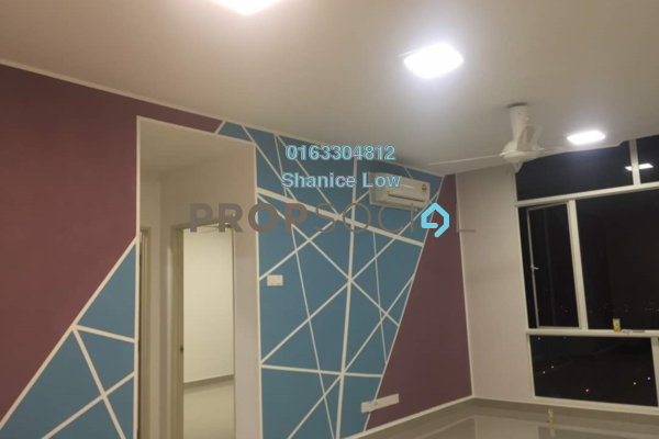 For Rent Condominium at 3Elements, Bandar Putra Permai Freehold Semi Furnished 2R/2B 1.4k