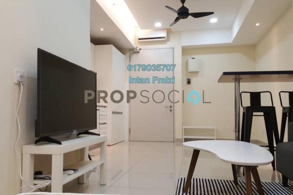 For Rent SoHo/Studio at Suria Jelutong, Bukit Jelutong Freehold Semi Furnished 1R/1B 1.3k