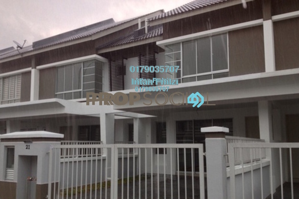For Rent Terrace at S2 Heights, Seremban 2 Freehold Unfurnished 4R/3B 1.2k