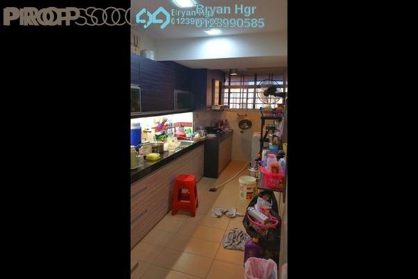 For Rent Condominium at Melur Apartment, Sentul Leasehold Semi Furnished 3R/2B 1.7k