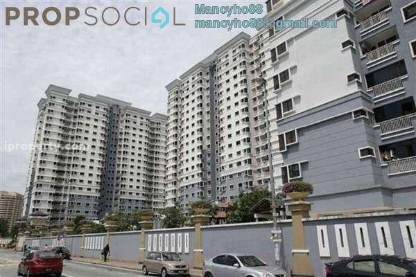 For Sale Condominium at Pelangi Utama, Bandar Utama Freehold Semi Furnished 3R/2B 510k