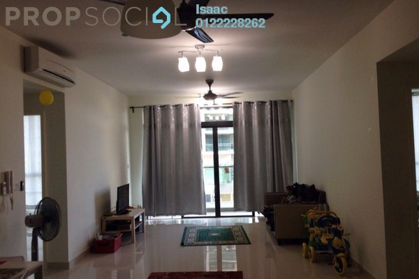 For Sale Condominium at The Z Residence, Bukit Jalil Freehold Fully Furnished 3R/2B 610k