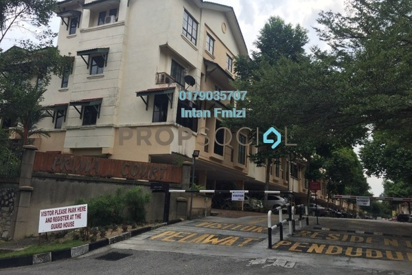 For Rent Townhouse at Taman Melawati, Melawati Freehold Fully Furnished 4R/3B 1.9k