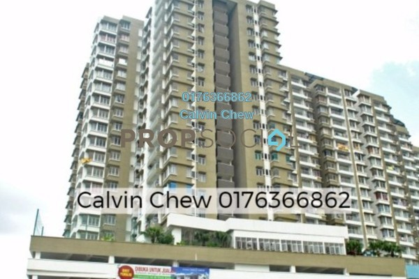 For Sale Condominium at Prima U1, Shah Alam Freehold Unfurnished 3R/2B 378k