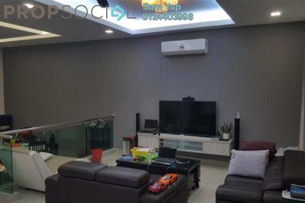 For Sale Terrace at D'Premier, Bandar Damai Perdana Freehold Semi Furnished 5R/5B 1.1m