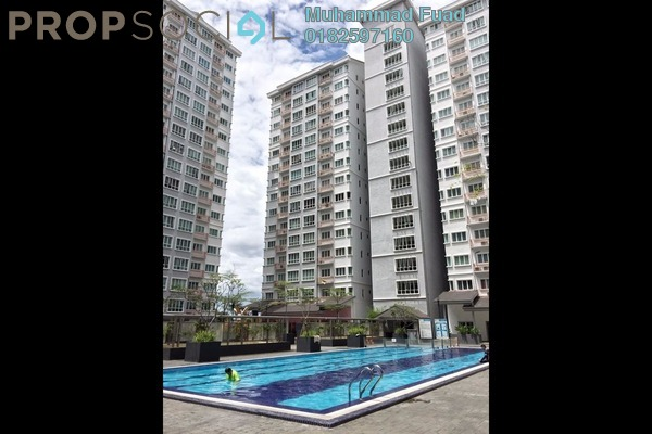 For Sale Condominium at Banjaria Court, Batu Caves Freehold Unfurnished 3R/2B 390k