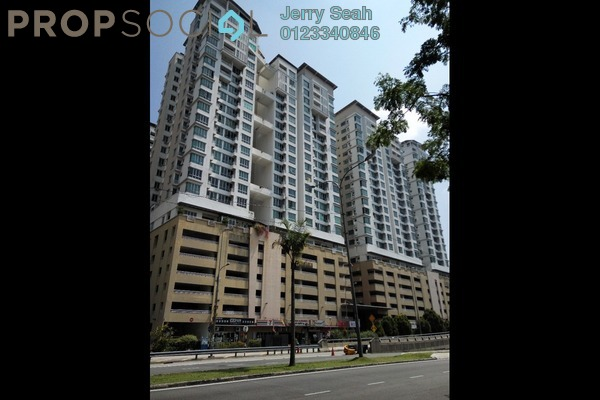 For Rent Serviced Residence at Casa Tiara, Subang Jaya Freehold Fully Furnished 1R/1B 1.6k