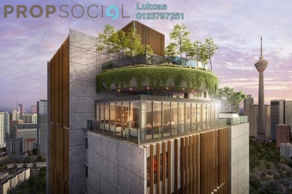 For Sale Serviced Residence at Dorsett Residences, Bukit Bintang Leasehold Semi Furnished 2R/2B 840k