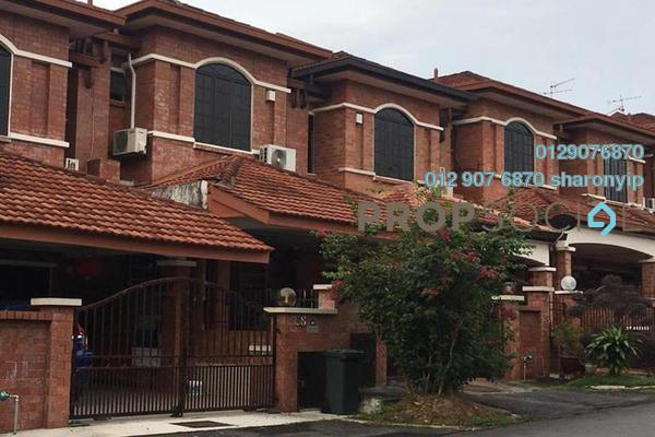 For Rent Terrace at SL13, Bandar Sungai Long Freehold Semi Furnished 4R/3B 1.3k